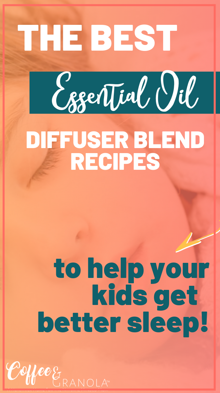 These essential oils diffuser blends are specially mixed to help your kids get better and more restful sleep! Plus, these sleepy diffuser blends work for the whole family! #essentialoils #natural #naturalremedies #oilylife