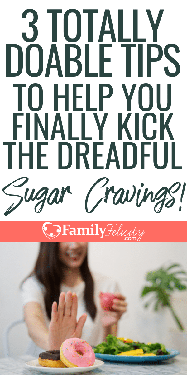 Giving up or reducing your overall sugar intake can be really hard! These are my best tips to kick the sugar cravings for good! They worked for me! #healthyeating #healthyliving #sugarfree #heath