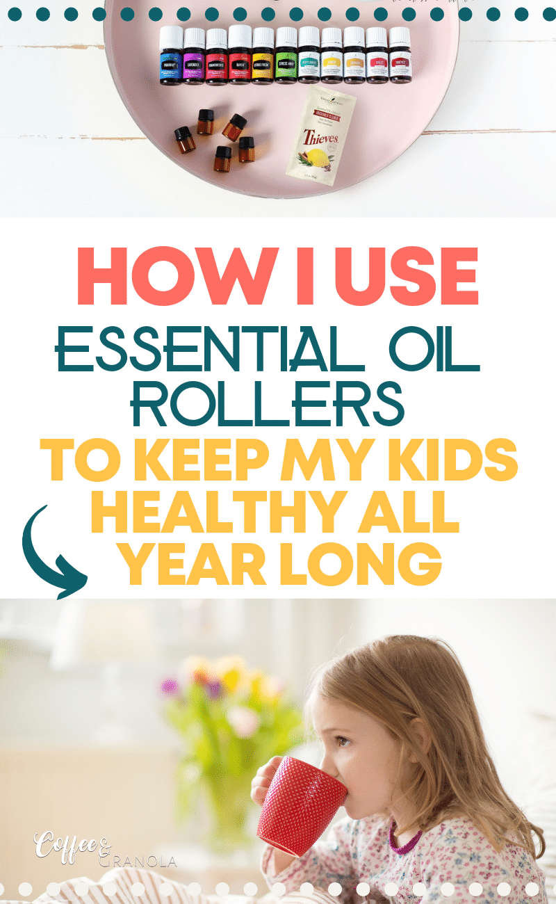 My favorite way to keep my family healthy year round is by using essential oils to boost their immunity naturally. Here is my favorite tried and tested rollerball immune recipe! #essentialoils #natural #naturalremedies